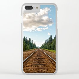 Rollin' Clear iPhone Case