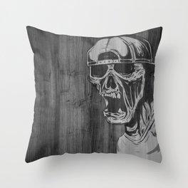 SNAPBACK EDIT Throw Pillow