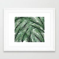 tropical Framed Art Prints featuring Tropical by Elly Liyana