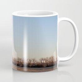 Scrubby Trees on Nebraska Plains Coffee Mug