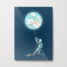The collector Metal Print