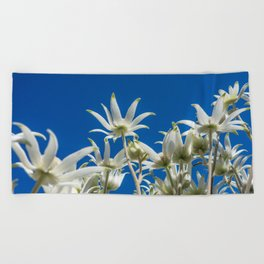 Under the Flowers Beach Towel