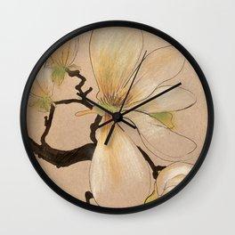 Magnolia Elizabeth Wall Clock