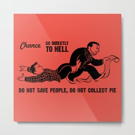 Go To Hell Metal Print