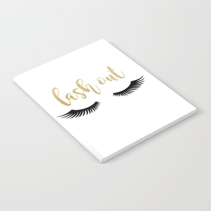 Lash Out Notebook