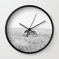 into the wild::kenya Wall Clock