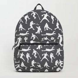 Baseball Players // Charcoal Backpack