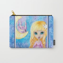 Castle Dreams Girl Carry-All Pouch