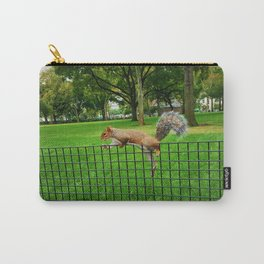 squirrel on a wire Carry-All Pouch