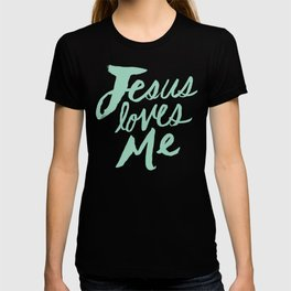 Jesus Loves Me x Mint T-shirt