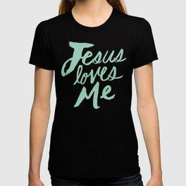 Jesus Loves Me x Mint T-shirt
