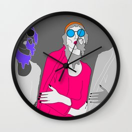 life's a party part 2 Wall Clock