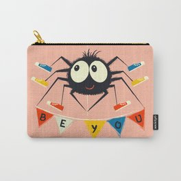Cute Spider wearing trainers Carry-All Pouch