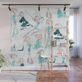 Pearl Pattern Wall Mural