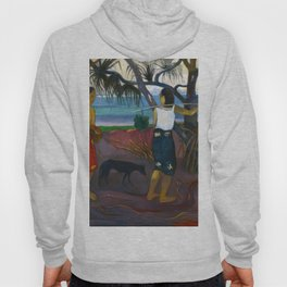 Under the Pandanus by Paul Gauguin Hoody