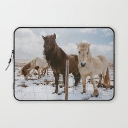 Icelandic Horses Laptop Sleeve