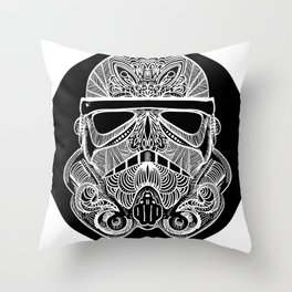 Sugartrooper Throw Pillow