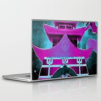 tokyo Laptop & iPad Skins featuring Tokyo by Brittany Bennett