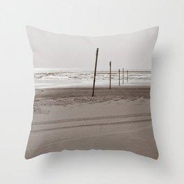 Ocean Shores Throw Pillow