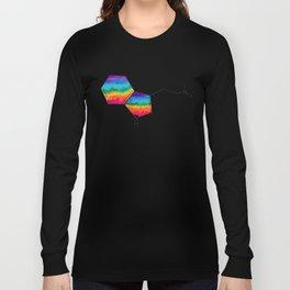 DMT Molecule Long Sleeve T-shirt