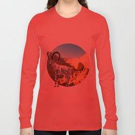 Nubian Ibex Long Sleeve T-shirt