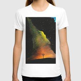 Orange Horizons Discing T-shirt