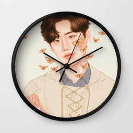 flutter by, fly high [lee jongsuk] Wall Clock