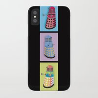 dalek iPhone & iPod Cases featuring Dalek Dreams by Megs stuff