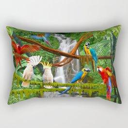 Enchanted Jungle Rectangular Pillow