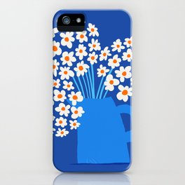 Abstraction_FLORAL_Blossom_001 iPhone Case