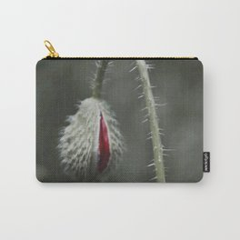 Botanical Still-Life Photography Poppy Unveiled Carry-All Pouch