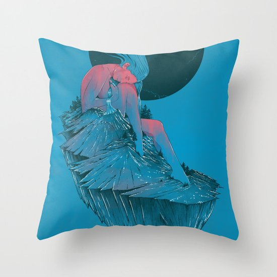 St.Helens In Rest Throw Pillow