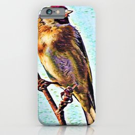 Goldfinch | Painting  iPhone Case