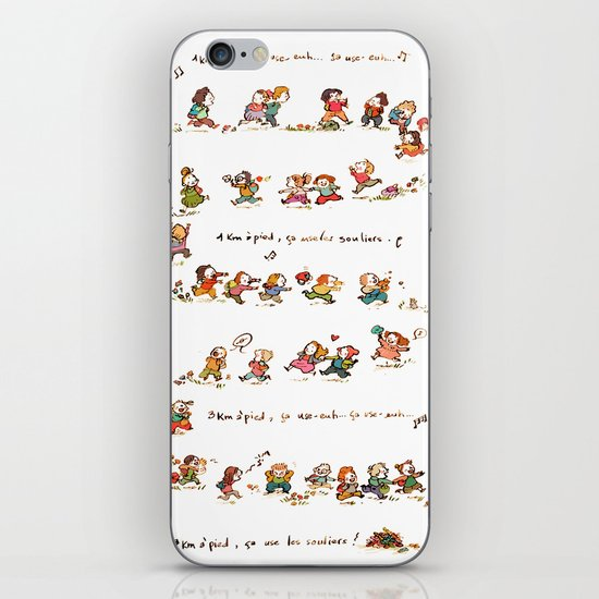 Summer Camp iPhone & iPod Skin