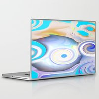 calendars Laptop & iPad Skins featuring Time by Geni