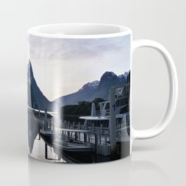 Sunset to die for at Milford Sound Coffee Mug