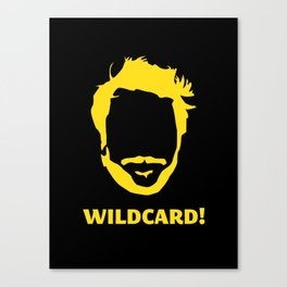 Wildcard! Canvas Print