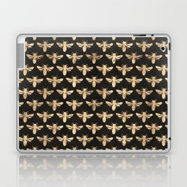 Honey Bees (Black) Laptop & iPad Skin