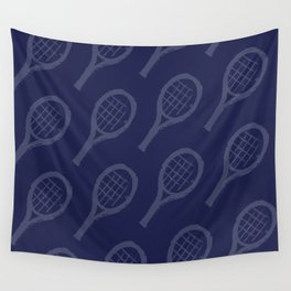 NAVY racquets Wall Tapestry