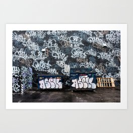 Street Art in Wynwood Art Print