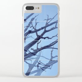 ABSTRACT TREE 5 Clear iPhone Case