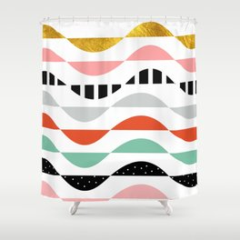 wonders of fall Shower Curtain