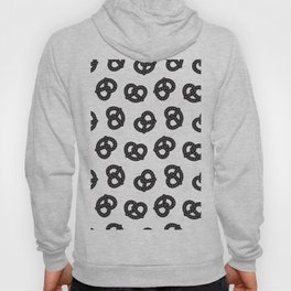Postmodern Pretzels in Black + White Hoody