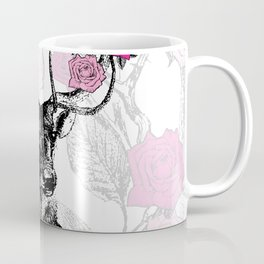 The Stag and Roses Coffee Mug