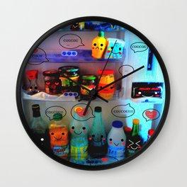 frigo kawaii Wall Clock