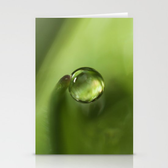 A Drop of Rain Stationery Cards