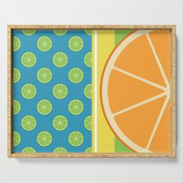 Summer Citrus Party Serving Tray