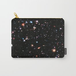 eXtreme Deep Field, Galaxy Background, Universe Large Print, Space Wall Art Decor, Deep Space Poster Carry-All Pouch