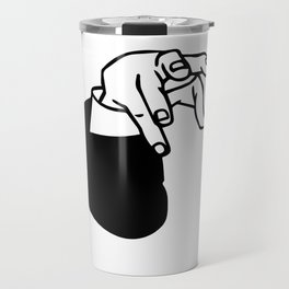 Andrew Yang Claw | Sucking Up Billions In Commerce Travel Mug