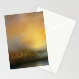 Monoliths - Who Were We Stationery Cards